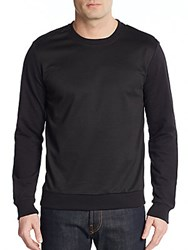 Sovereign Code Titus Zipper Trim Sweatshirt Black