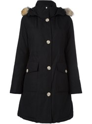 Woolrich Hooded Parka Black