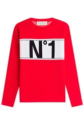 Etre Cecile Printed Pullover Red