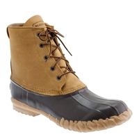 Unisex Lacrosse For J.Crew Duck Boots Walnut Brown