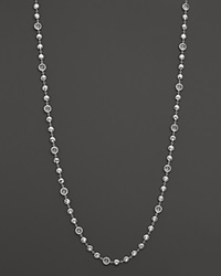 Ippolita Sterling Silver Rock Candy Long Multi Stone Necklace In Clear Quartz 40