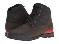 Creative Recreation Torello Military Black Primary Red Men's Shoes Brown