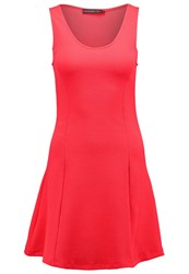 Evenandodd Summer Dress Neon Pink
