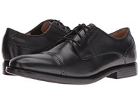 Dockers Hawley Black Polished Full Grain Men's Lace Up Casual Shoes