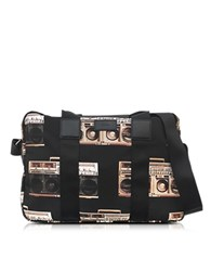 Paul Smith Ghetto Blaster Print Nylon Simple Folio Multicolor