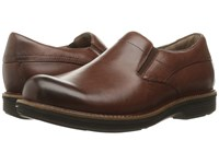 Dansko Jackson Mahogany Antiqued Calf Men's Slip On Shoes Brown