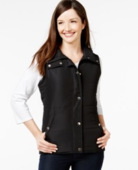 Style And Co. Sport Sleeveless Vest Only At Macy's Deep Black
