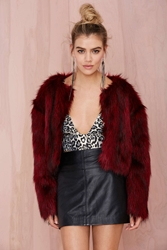 Nasty Gal Collection Rager Faux Fur Jacket