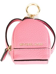 Michael Michael Kors 'Rhea' Keyring Pink And Purple