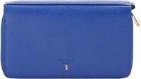 Serapian 'Evolution' Travel Wallet Blue