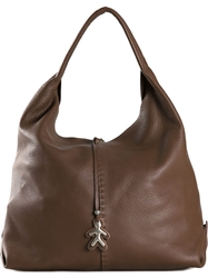 Henry Beguelin 'Happy' Tote Bag Brown
