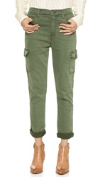 Mother The Vagabond Cargo Pants Military Green