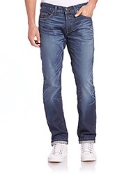 True Religion Ricky Relaxed Straight Leg Jeans Clod City