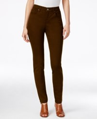 Styleandco. Style Co. Curvy Fit Colored Wash Skinny Jeans Only At Macy's Rich Truffle