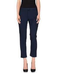 .. Merci Merci Casual Pants Dark Blue