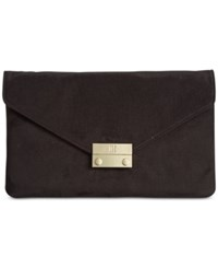 Inc International Concepts Zitah Foldover Clutch Only At Macy's Black