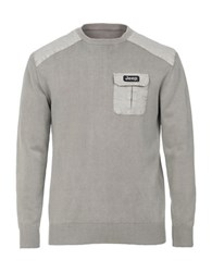 Jeep Pullover Sweater Grey