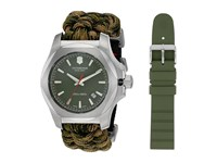 Victorinox I.N.O.X. Paracord Watch Set Green Camo Watches