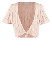 Cream Lazise Cardigan Rose Smoke