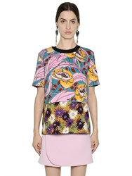 Marni Reversible Printed Cotton Jersey T Shirt