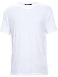 T By Alexander Wang Round Neck T Shirt White