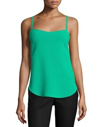 Cnc Costume National Sleeveless Sweetheart Neck Top Green Women's