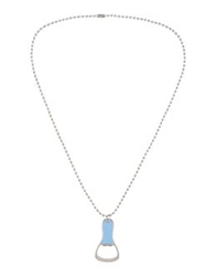 Dsquared2 Necklaces Blue