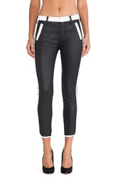 7 For All Mankind Sportif Crop Pant Black