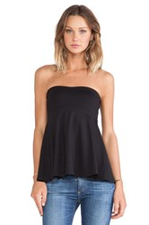 Susana Monaco Tube Flare Top Black
