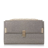 Head Over Heels Braya Clasp Detail Clutch Bag Gold