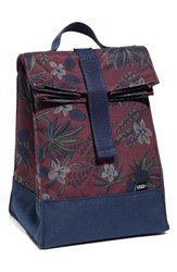 Vans Men's 'Mow Lunch' Insulated Canvas Lunch Sack Burgundy Port Royale
