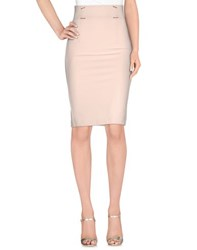 Annarita N. Skirts Knee Length Skirts Women Beige