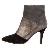Unisa Tuyo Stiletto Ankle Boots Black Grey