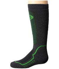 Icebreaker Snow Medium Over The Calf Monsoon Crew Cut Socks Shoes Red
