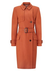 Windsmoor Wool Trench Coat Brown