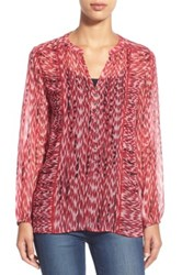 Casual Studio Blouse Red