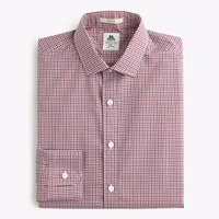 Thomas Mason For J.Crew Ludlow Shirt In Red Gingham Freedom Red