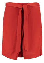 Banana Republic Aline Skirt Orange Lava