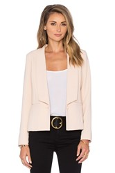 Greylin Krissa Pleated Back Blazer Blush