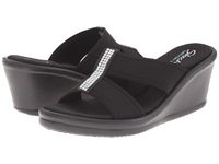 Skechers Rumblers Risk Taker Black Women's Sandals