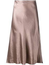 Vince Flared Skirt Brown