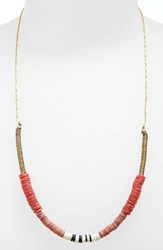Women's Maison Scotch Beaded Necklace Red