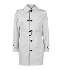 Sandro Summer Trench Coat Male White