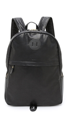 Billykirk Leather Backpack Black