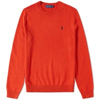 Polo Ralph Lauren Classic Crew Knit Orange
