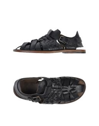 Dolce And Gabbana Sandals Black