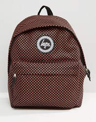 Hype Backpack Polka Dots Red