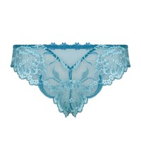 Simone Perele Amour Tanga Female Blue