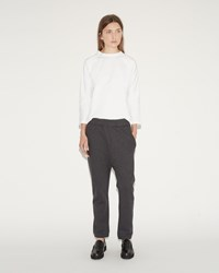Sofie D'hoore Pixel Cotton Fleece Sweatpants Grey