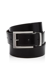 Tumi Polished Harness Reversible Belt Black Brown